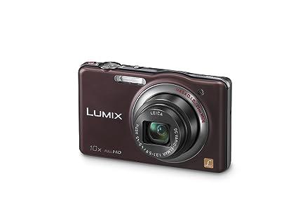 """Panasonic Lumix DMC-SZ7EG-T Appareil photo numérique 14 mégapixels, zoom optique 10 x, écran 7 cm (2,9""""), stabilisateur d'image (Chocolat)"""