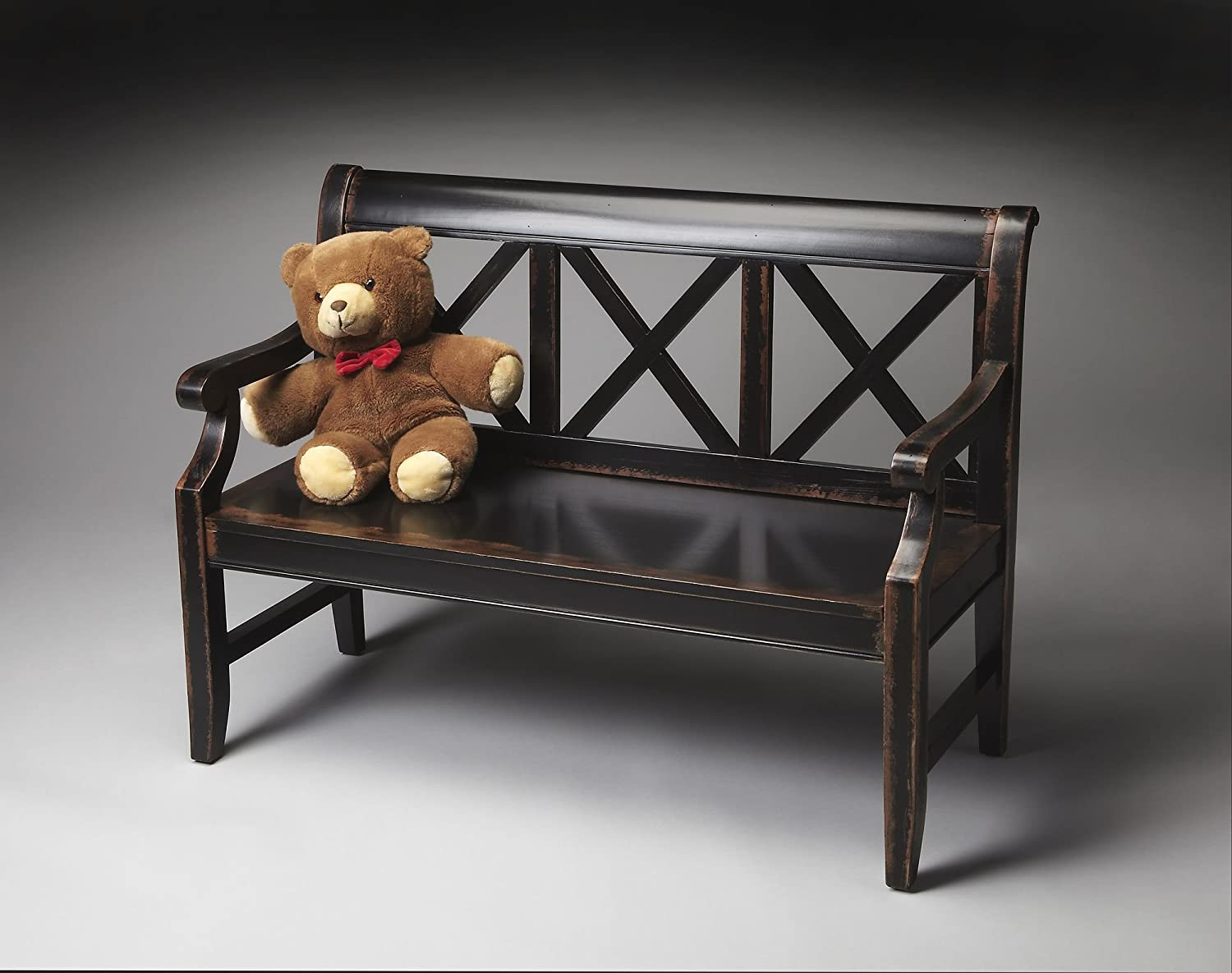 Butler Home Decor Furniture Bench Finish Type Moderate Midnight Rose 5048250 серьги butler and wilson