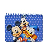 Disney Mickey Mouse and Friends Spiral Autograph Book - Blue