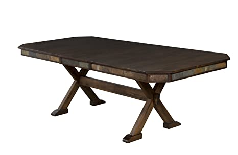 Sunny Designs Savannah Dining Table with Adjustable