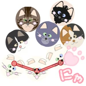 Cat Balls [connect three or more of the same kind] from MiyabiSoft