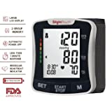 Slight Touch Fully Automatic Wrist Digital Blood Pressure Cuff Monitor ST-501 (Tamaño: Wrist Monitor)
