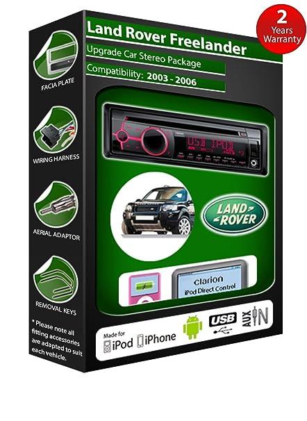 Mazda 121 de lecteur CD et stéréo de voiture radio Clarion jeu USB pour iPod/iPhone/Android