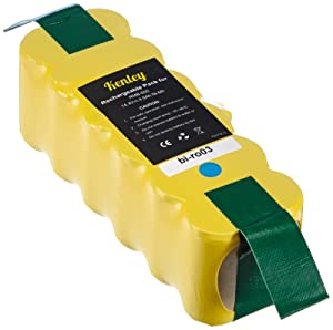 Kenley High Capacity Battery for iRobot Roomba Vaccum Cleaner 500/ 510/ 520/ 530/ 555/ 560, 14.4 V 4.5 AhCustomer reviews and more information