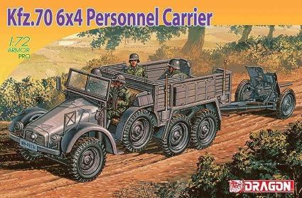 Dragon - D7377 - Maquette - KFZ70 6x4 et PAK 36 - Echelle 1:72