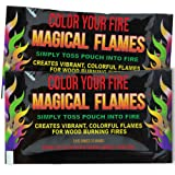 Magical Flames 25-pack: TWICE THE COLOR, half the price! Creates Vibrant, Rainbow Colored Flames (Tamaño: 25 Pack)