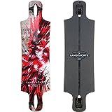 Landyachtz Drop Hammer Cardinal Longboard Deck 2017 (Color: Cardinal, Tamaño: Deck Only)