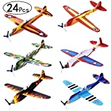 iBaseToy 24 Pack Flying Glider Plane - 8