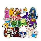 Meet Holiday Adventure Time Skateboard Vinyl Stickers Car Motorcycle Bicycle Luggage Decal Graffiti Patches Skateboard Stickers for Laptop