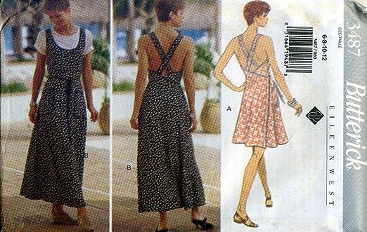 Western Sewing Patterns Dress Sewing Pattern 3487