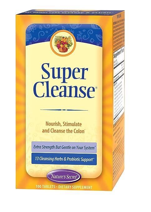 Отзывы Nature's Secret Super Cleanse, 100 Ct, 1 Bottle