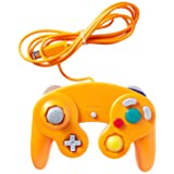 Gamecube Controller (Orange-spice) 3rd Party (Color: Orange)