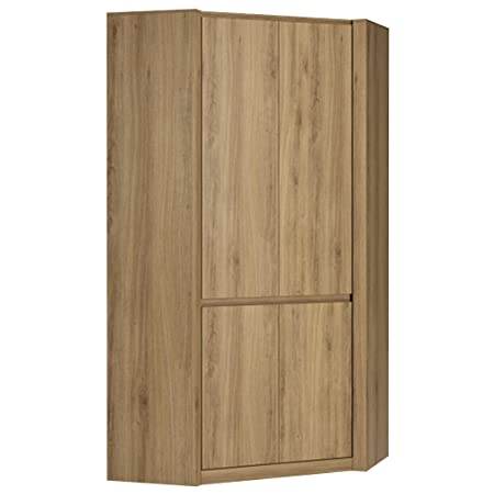 Furniture To Go Hobby Corner Wardrobe, Wood, Oak Melamine