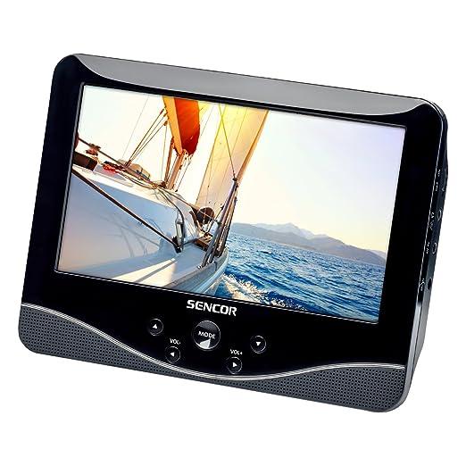 Sencor SPV 7769DUAL Lecteur DVD portable Noir