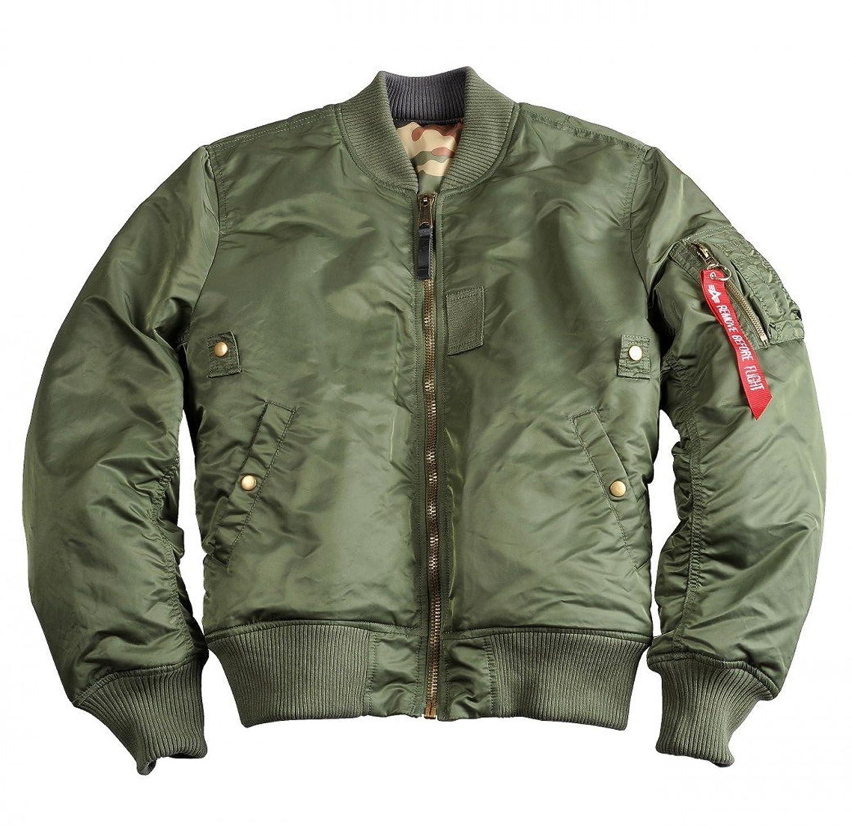 "Alpha Industries Herren Fliegerjacke ""MA-1 VF REV II"" sage green online bestellen"