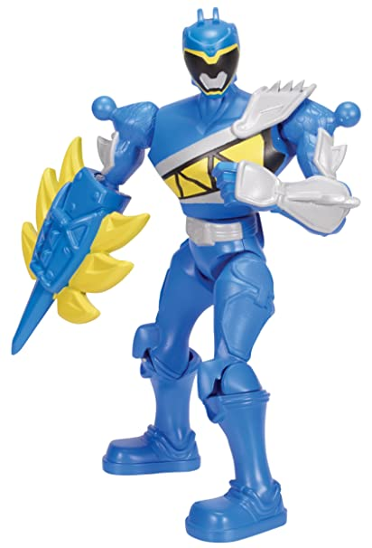 Power Rangers : Dino Charge - Mixx N Morph - Ranger Bleu - Figurine Personnalisable 17 cm