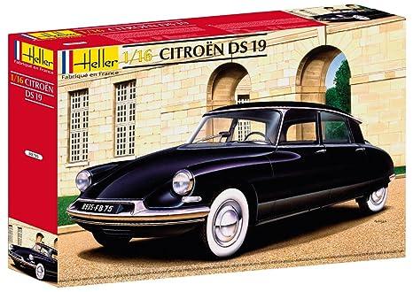 Heller - 80795 - Construction Et Maquettes - Citroen Ds 19                              - Echelle 1/16ème