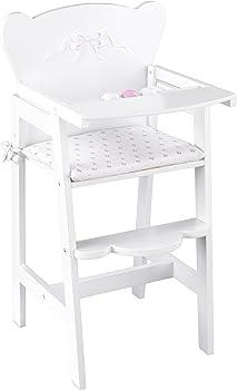 KidKraft Tiffany Bow Wooden Doll High Chair