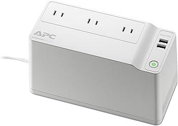 APC BGE90M Back-UPS 125VA 75W 3-Outlets UPS