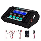 Keenstone Lipo Battery Charger Discharger with Low Voltage Checker 10A 100W AC/DC 1S-6S Digital Battery Pack Charger for Li-Po Li-Hv Li-Ion Li-Fe NiMH Ni-Cd Pb (Color: Lipo Battery Charger)