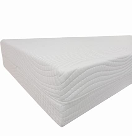 Dibapur® Dream 7 (H3 Fixed) 7-Zone Cold Foam Mattress Variety X Height 16 cm/with Medi Cool Cover Approx. 18 cm Cold Foam, foam, 180 x 200