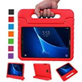 NEWSTYLE Samsung Galaxy Tab A 10.1 Kids Case - Shockproof Light Weight Protection Handle Stand Case for Samsung Galaxy Tab A 10.1 Inch (SM-T580/T585) Tablet 2016 Release (Red) Not Fit Other Models (Color: Red)