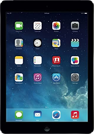 "Apple iPad Air 9,7"" (24,64 cm) A7 1,3 GHz 16 Go Wi-Fi Noir/Gris"