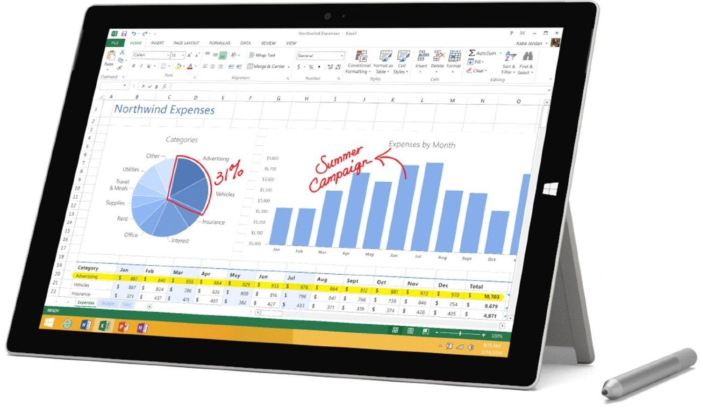 Microsoft PS2-00001 Surface Pro 3 8GB/256GB