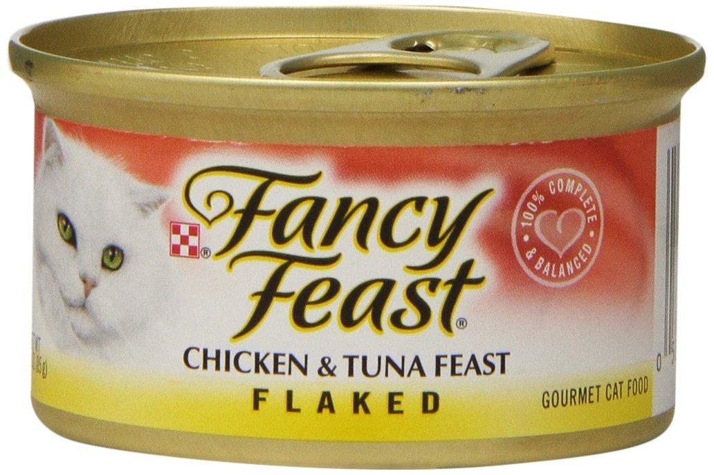 Fancy Feast Flaked Chicken & Tuna Feast