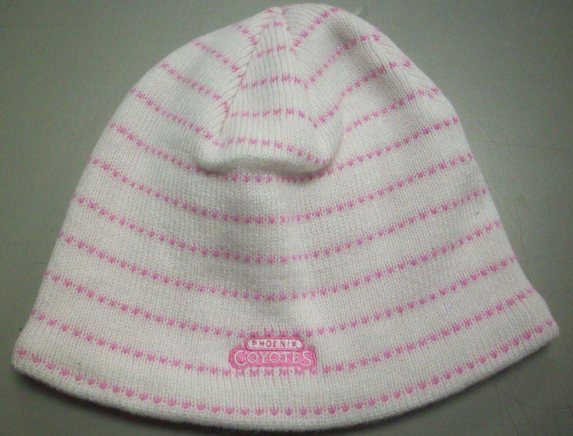 Phoenix Coyotes Womens Knit Hat by Reebok K563W womens plicate baggy beanie knit crochet ski hat oversized slouch winter cap 4054