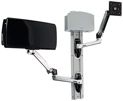 Ergotron LX Wall Mount System - flat panel wall mounts