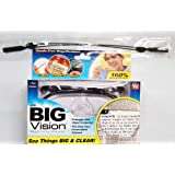 Big Vision Magnifying Glasses with Adjustable Lanyard Strap (160x)
