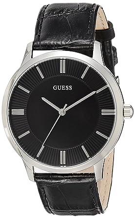 buy guess analog black dial men s watch w0664g1 online at low guess analog black dial men s watch w0664g1