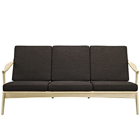 LexMod Pace Sofa, Brown