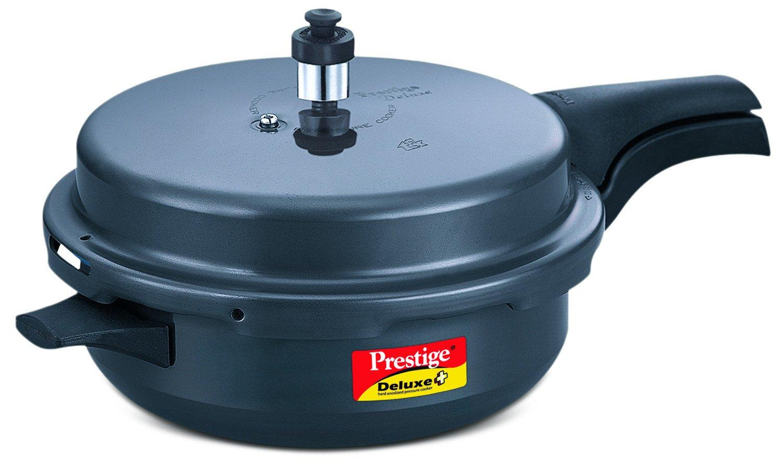 American Made Induction Cooker ~ Prestige deluxe plus hard anodised senior pan pressure