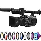Panasonic AG-UX90 4K/HD Professional Camcorder + Creative Filter Kit (Color: Add Creative Filter Kit, Tamaño: 4K)