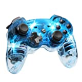 Afterglow Wireless Controller, Blue - PlayStation 3 (Color: Blue)