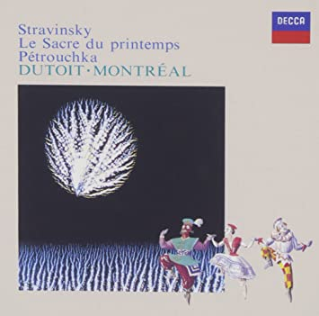 ストラヴィンスキー:バレエ「春の祭典」「ペトルーシュカ」