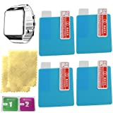 OCTelect DZ09 smart watch screen protector with 4PCS in one pack MADE of Nano Material