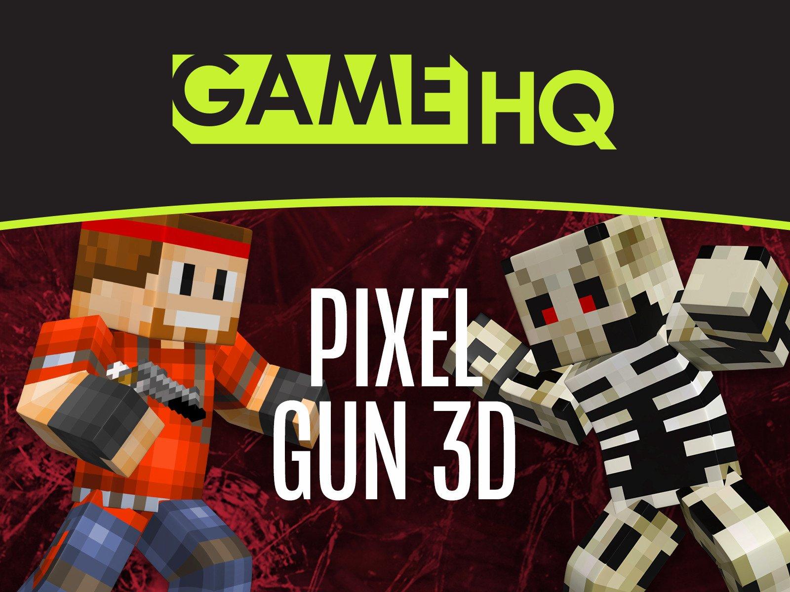 Clip: GameHQ: Pixel Gun 3D - Season 2