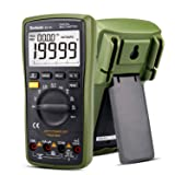 Digital Multimeter 20000 Counts Auto Range 4 1/2 DC AC Resistance Capacitance Peak Hold True RMS NCV Diode Tester Borbede BD-99 (Tamaño: Small)