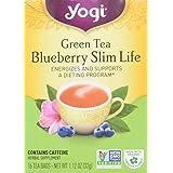 Yogi Green Tea, Blueberry Slim Life, 16 Tea Bags