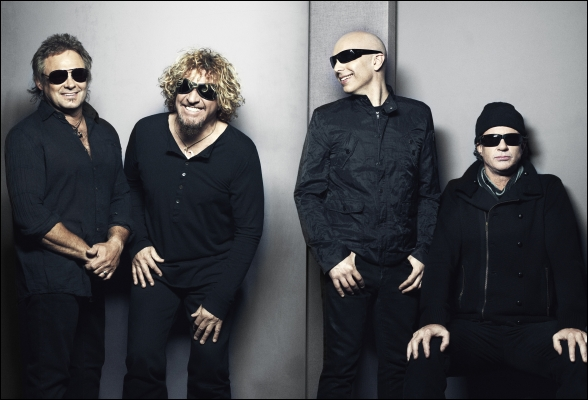 Chickenfoot III : Joe Satriani, Sammy Hagar, Chad Smith, Michael Anthony