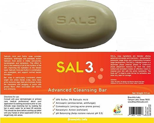 SAL3® Salicylic Acid and Sulfur Soap