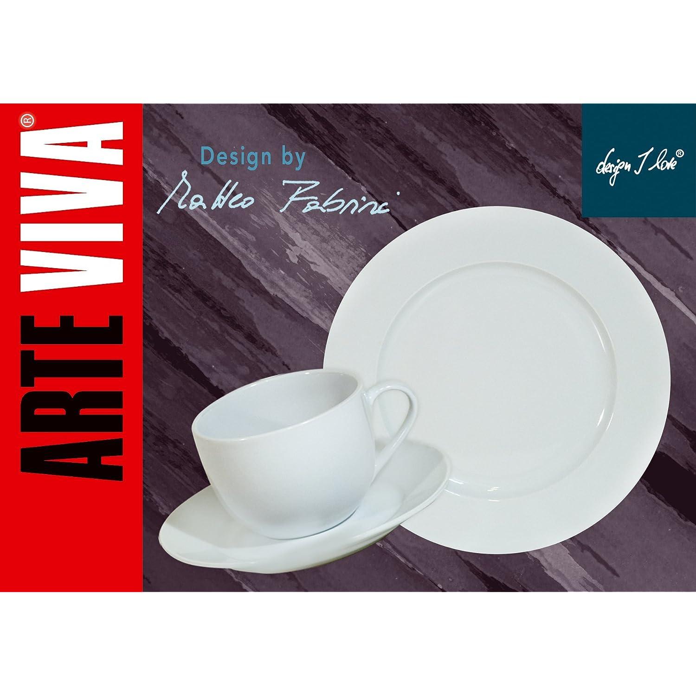 Arte viva 14795 vajilla de porcelana 51 piezas dise o for Ofertas vajillas porcelana