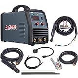 TIG-165HF, 165 Amp TIG Torch Stick Arc DC Inverter Welder, High Frequency & High Voltage 100% Start, 95~260V Wide Voltage Welding Machine. (Color: Grey, Tamaño: Full Size)