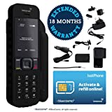 BlueCosmo Inmarsat IsatPhone 2 Satellite Phone Kit (SIM Included) - Global Coverage - Voice, SMS, GPS Tracking, Emergency SOS - Prepaid and Monthly Service Plan Options (Color: 1: SIM Card Included (No Airtime))