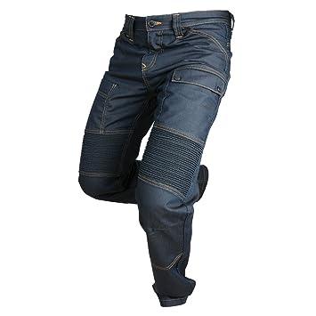 Overlap OVP-ROAD-KERO33 Jeans de Moto Road Kérosène Bleu Taille 33
