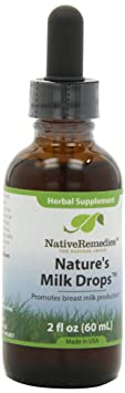 Отзывы Native Remedies Nature's Milk Drops to Promote Lactation and Successful Breastfeeding, 50ml