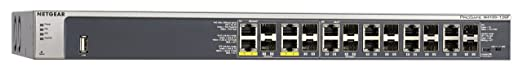Netgear GSM7212F Switch Manageable Niveau 2+ Poe 12 Ports Gigabit et 4 Slots SFP, Prosafe